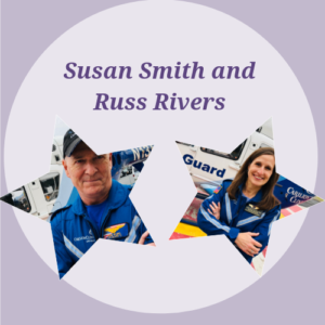 Susan Smith and Russ Rivers: $1,485
