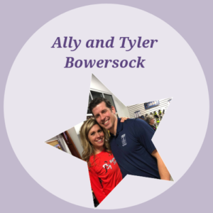 Ally and Tyler Bowersock: $1,900