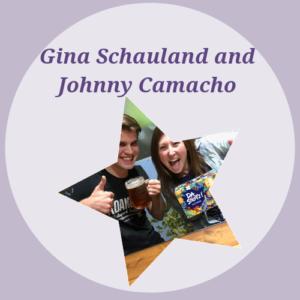 Gina Schauland and Johnny Camacho: $1,855